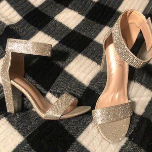 Diamond Studded Heels